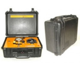 HTI - 30000 Ultra High Pressure Ultra Compact Air Driven Hydraulic Tensioner Pump complete in carrying case