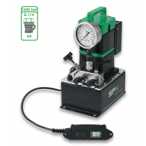 SPX 220/230v 50/60Hz Light Weight High Pressure Electric Tensioner Pump Complete with Pendant and 1.0 gallon reservoir